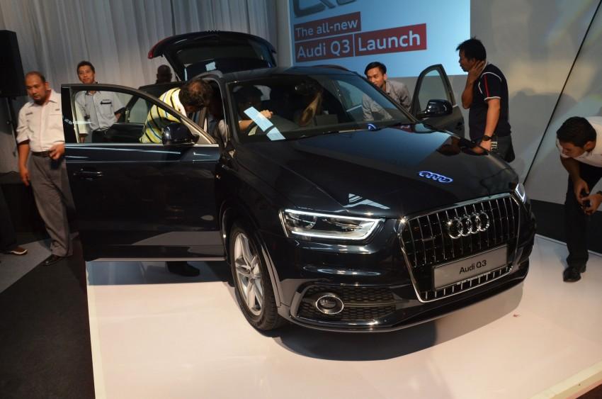 Audi Q3 launched – 2.0 TFSI, 170 hp, RM258k Image #115221