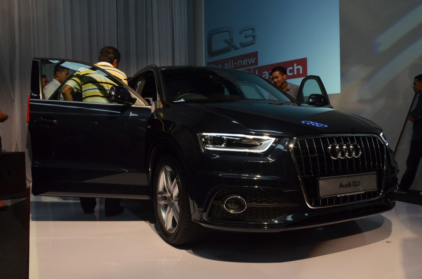 Audi Q3 launched – 2.0 TFSI, 170 hp, RM258k Image #115222