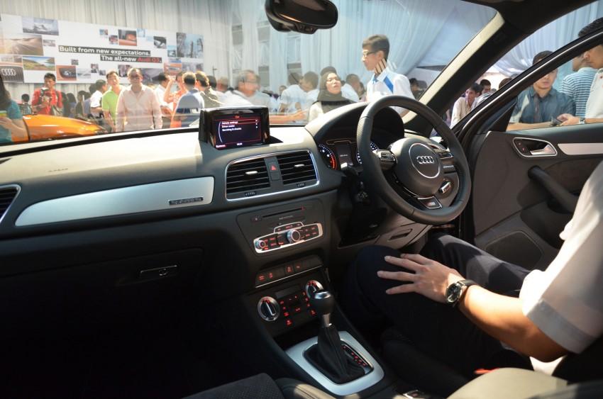 Audi Q3 launched – 2.0 TFSI, 170 hp, RM258k Image #115227