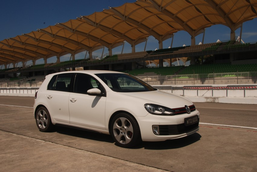 Volkswagen Golf GTI Mk6 Test Drive Review Image #155723