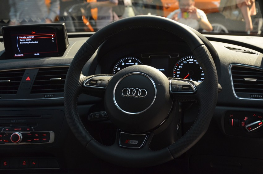 Audi Q3 launched – 2.0 TFSI, 170 hp, RM258k Image #115230