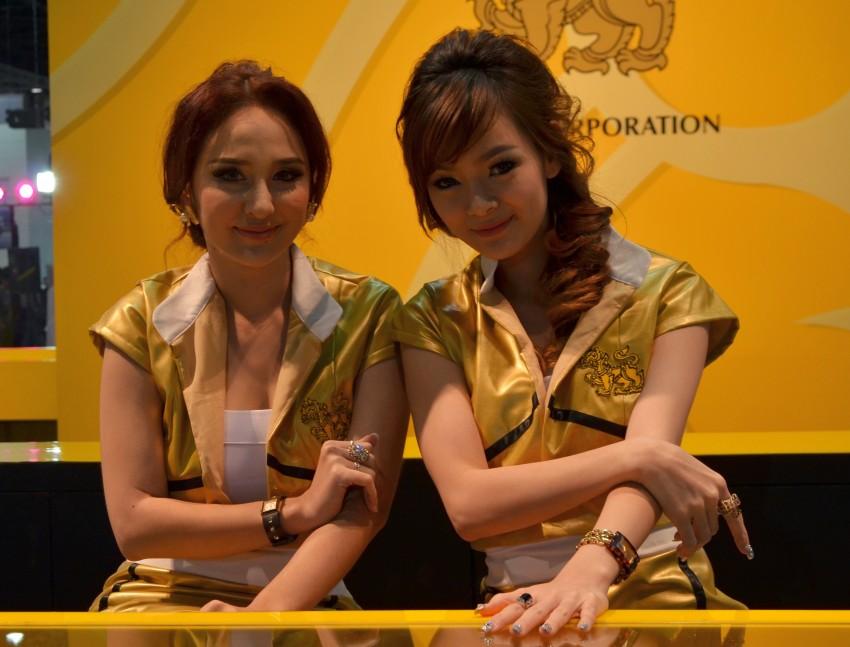 2012 Thai Motor Expo – the ladies wrap it up Image #144583