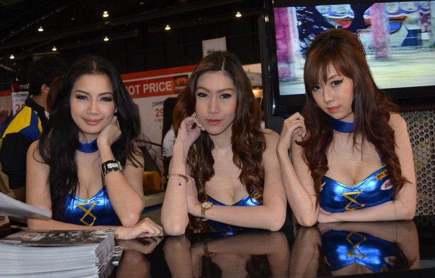 2012 Thai Motor Expo – the ladies wrap it up Image #144614