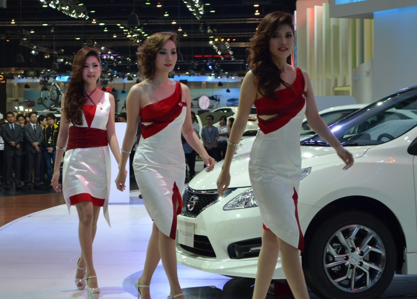 2012 Thai Motor Expo – the ladies wrap it up Image #144579