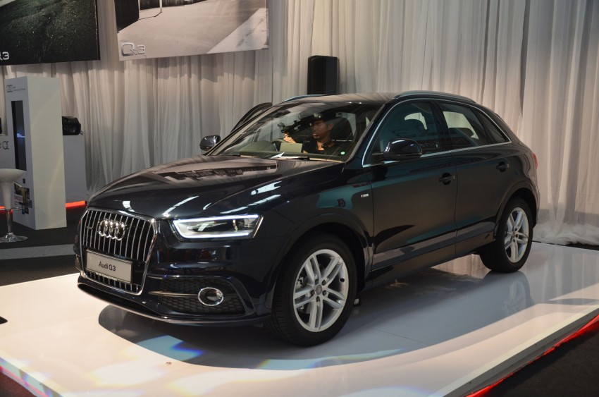 Audi Q3 launched – 2.0 TFSI, 170 hp, RM258k Image #115249