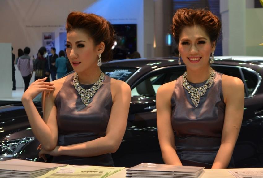 2012 Thai Motor Expo – the ladies wrap it up Image #144596