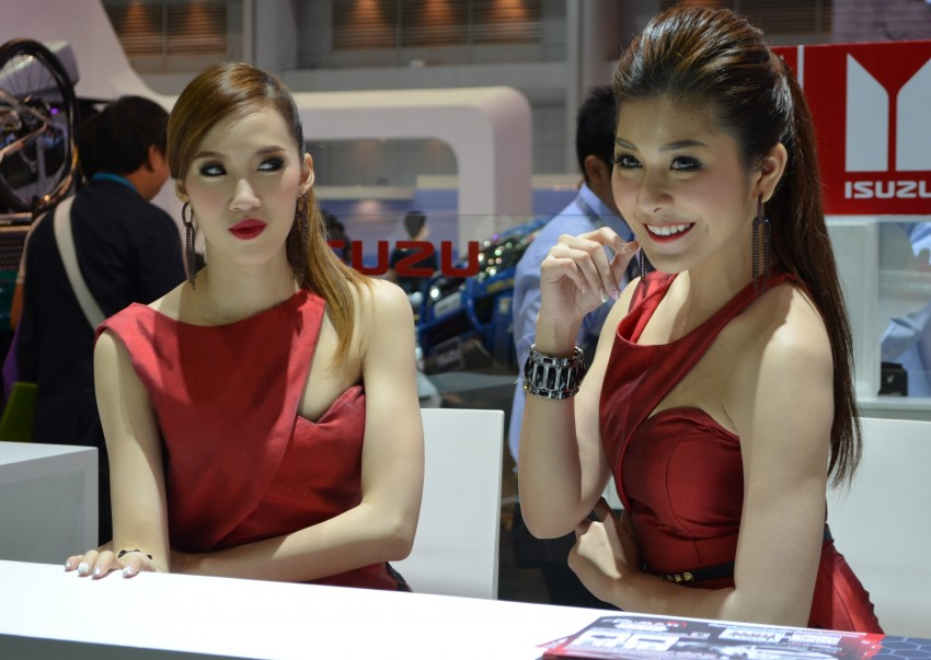 2012 Thai Motor Expo – the ladies wrap it up Image #144547