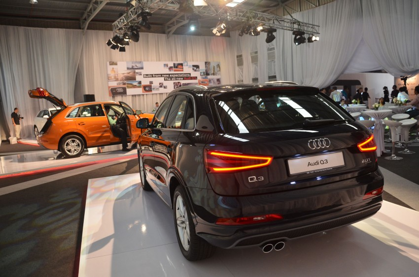 Audi Q3 launched – 2.0 TFSI, 170 hp, RM258k Image #115250