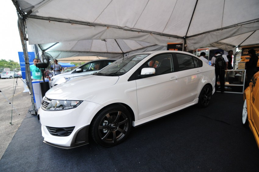 Proton Preve R3 Concept at 2012 Malaysian Rally Image #118382