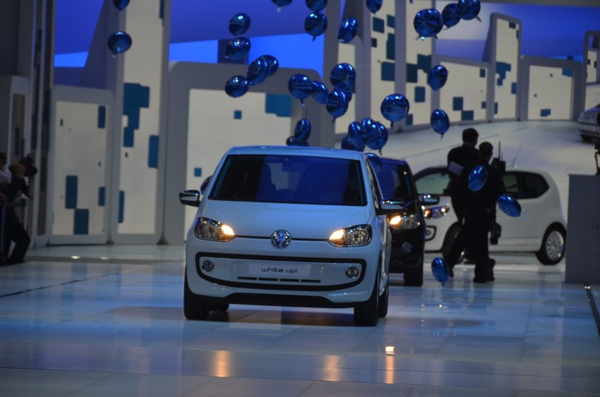 Volkswagen up! – production car debut at Frankfurt 2011 Image #69796