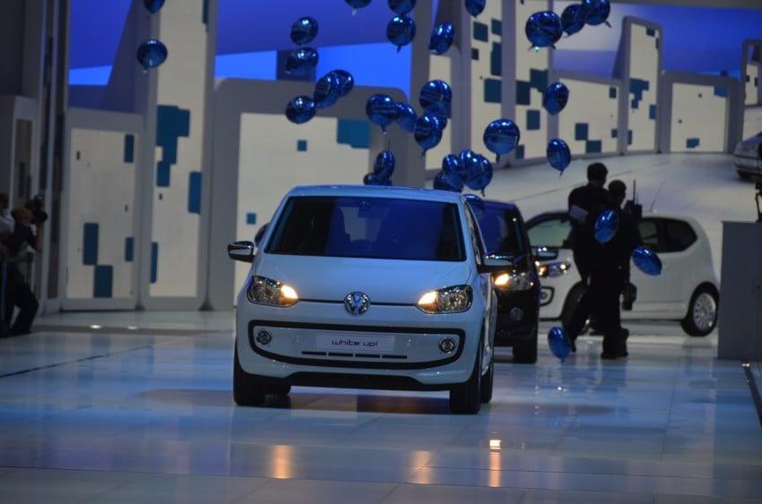 Volkswagen up! – production car debut at Frankfurt 2011 Image #69796