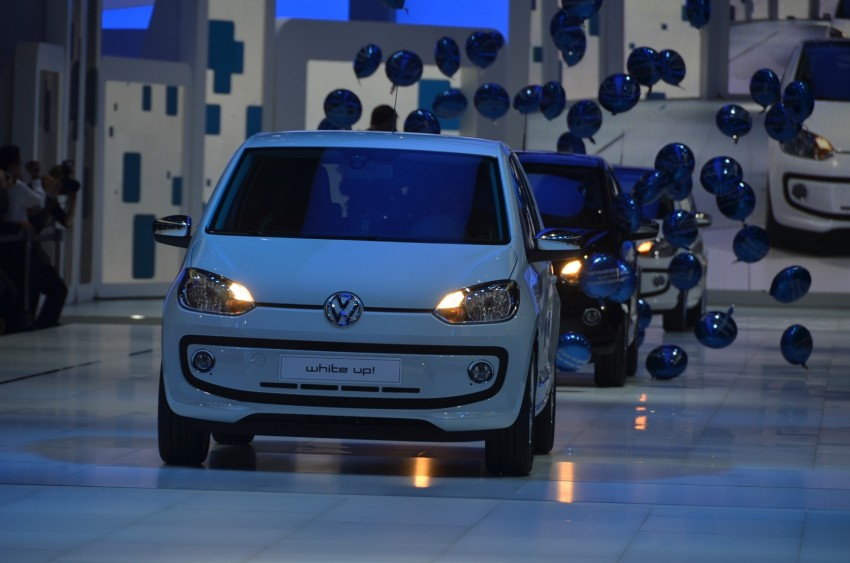 Volkswagen up! – production car debut at Frankfurt 2011 Image #69797