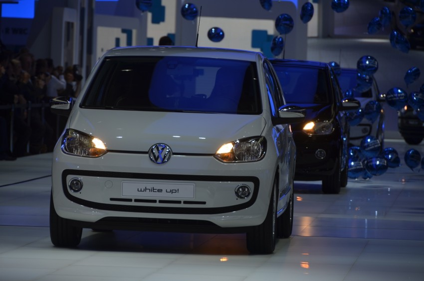 Volkswagen up! – production car debut at Frankfurt 2011 Image #69798