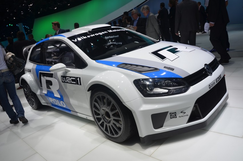 Volkswagen Polo R WRC – 300 horsepower rally car Image #69567