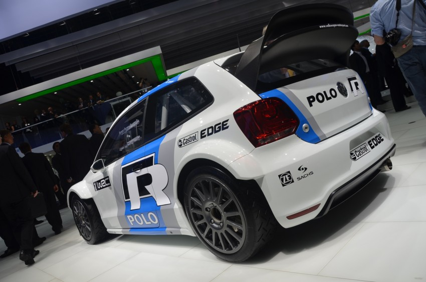 Volkswagen Polo R WRC – 300 horsepower rally car Image #69578