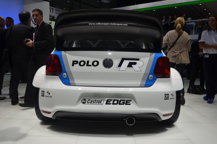 Volkswagen Polo R WRC – 300 horsepower rally car Image #69582