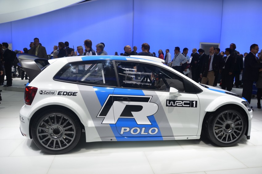 Volkswagen Polo R WRC – 300 horsepower rally car Image #69583