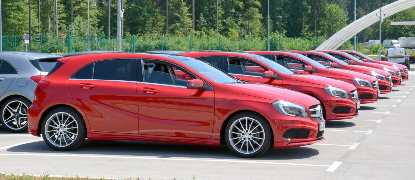DRIVEN: W176 Mercedes-Benz A-Class – we sample the A200, A250 and A250 Sport in Slovenia Image #118487