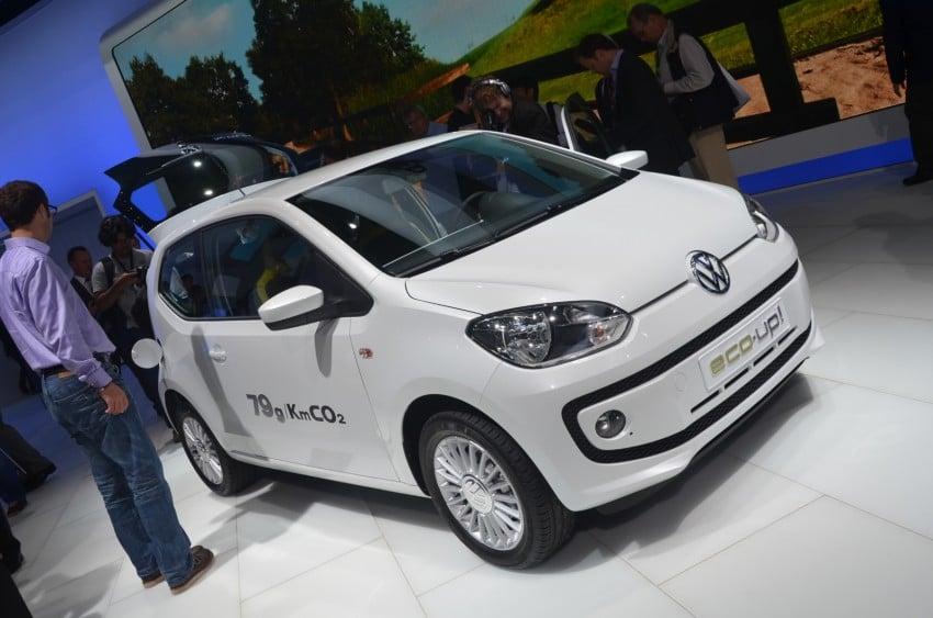 Volkswagen up! – production car debut at Frankfurt 2011 Image #69799