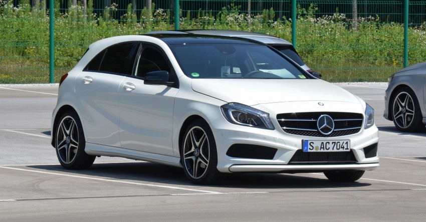 DRIVEN: W176 Mercedes-Benz A-Class – we sample the A200, A250 and A250 Sport in Slovenia Image #118488