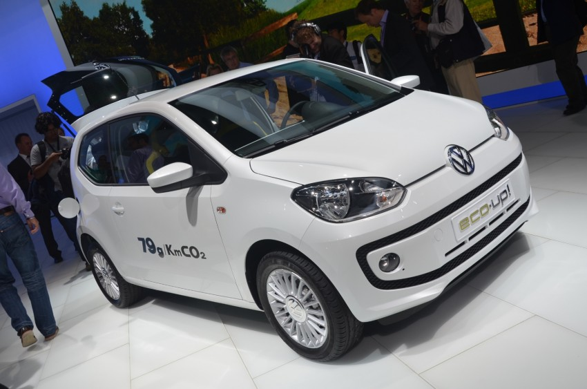 Volkswagen up! – production car debut at Frankfurt 2011 Image #69800