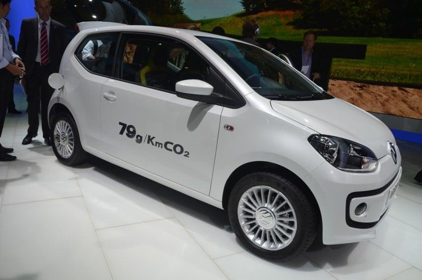 Volkswagen up! – production car debut at Frankfurt 2011 Image #69801