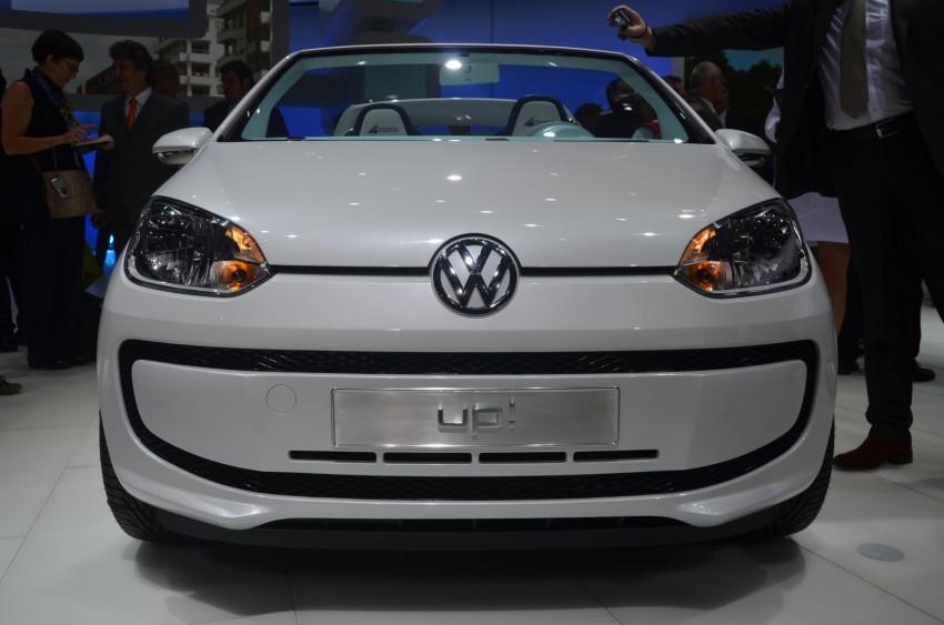 Volkswagen up! – production car debut at Frankfurt 2011 Image #69803