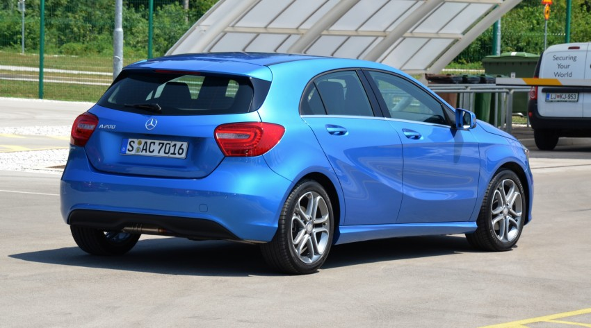 DRIVEN: W176 Mercedes-Benz A-Class – we sample the A200, A250 and A250 Sport in Slovenia Image #118493
