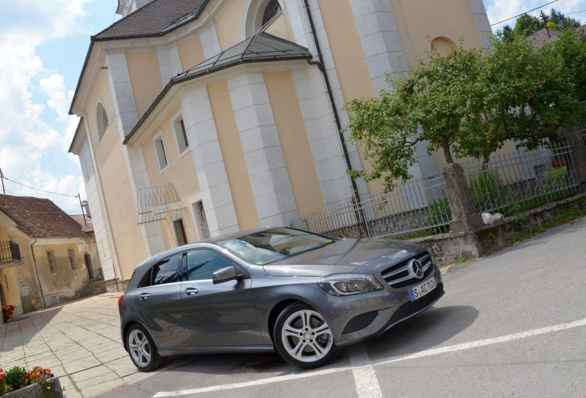 DRIVEN: W176 Mercedes-Benz A-Class – we sample the A200, A250 and A250 Sport in Slovenia Image #118499