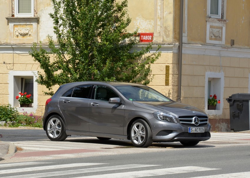 DRIVEN: Mercedes-Benz A-Class W176 – the A 200, A 250 and A 250 Sport sampled in Slovenia Image #118500