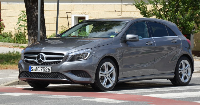 DRIVEN: W176 Mercedes-Benz A-Class – we sample the A200, A250 and A250 Sport in Slovenia Image #118501