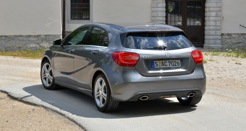 DRIVEN: W176 Mercedes-Benz A-Class – we sample the A200, A250 and A250 Sport in Slovenia Image #118502