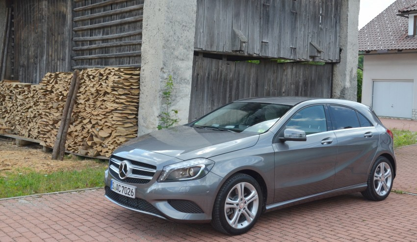 DRIVEN: W176 Mercedes-Benz A-Class – we sample the A200, A250 and A250 Sport in Slovenia Image #118503