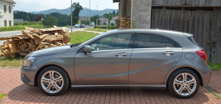 DRIVEN: W176 Mercedes-Benz A-Class – we sample the A200, A250 and A250 Sport in Slovenia Image #118504