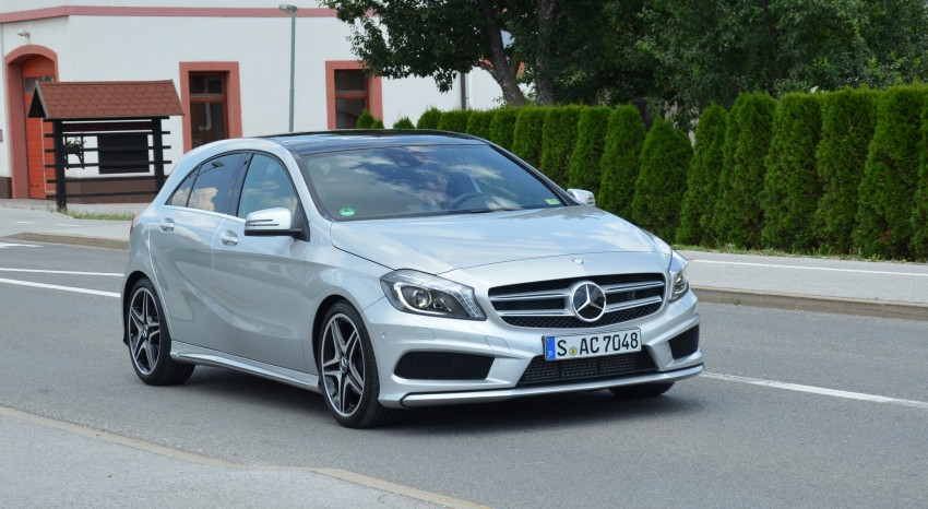 DRIVEN: W176 Mercedes-Benz A-Class – we sample the A200, A250 and A250 Sport in Slovenia Image #118505