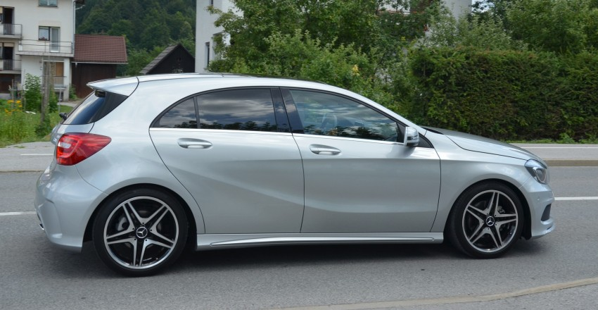 DRIVEN: W176 Mercedes-Benz A-Class – we sample the A200, A250 and A250 Sport in Slovenia Image #118506