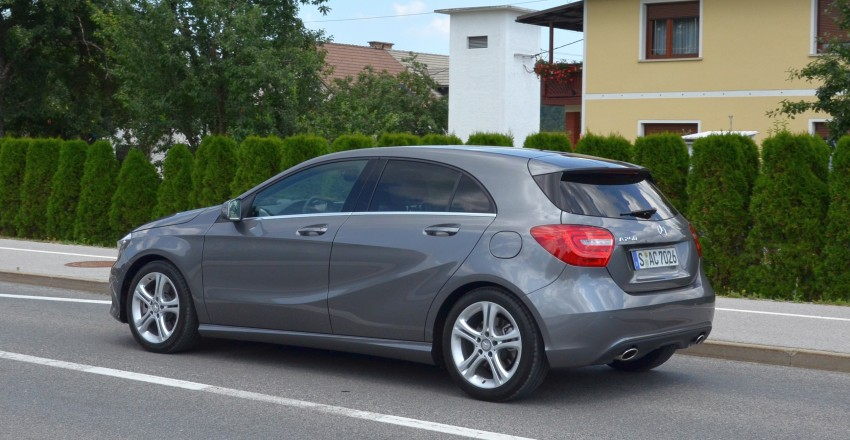 DRIVEN: W176 Mercedes-Benz A-Class – we sample the A200, A250 and A250 Sport in Slovenia Image #118507