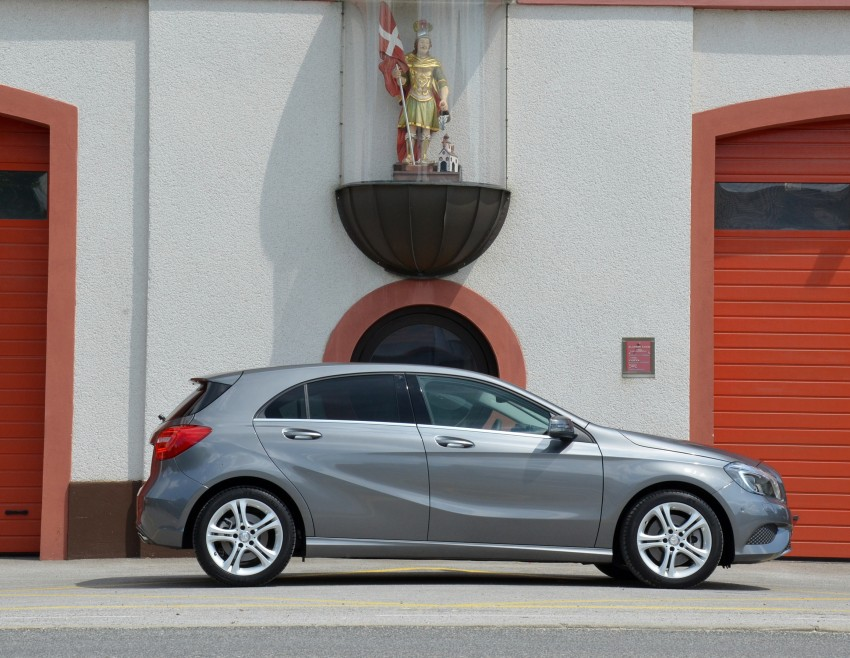 DRIVEN: W176 Mercedes-Benz A-Class – we sample the A200, A250 and A250 Sport in Slovenia Image #118508