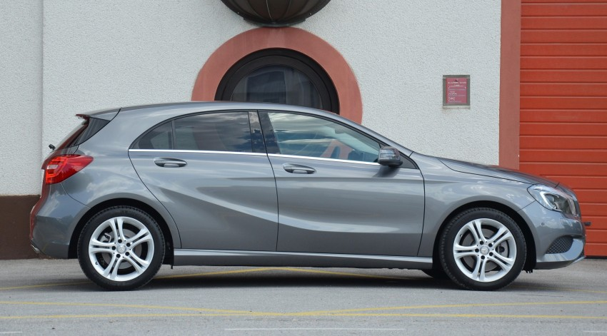 DRIVEN: W176 Mercedes-Benz A-Class – we sample the A200, A250 and A250 Sport in Slovenia Image #118509