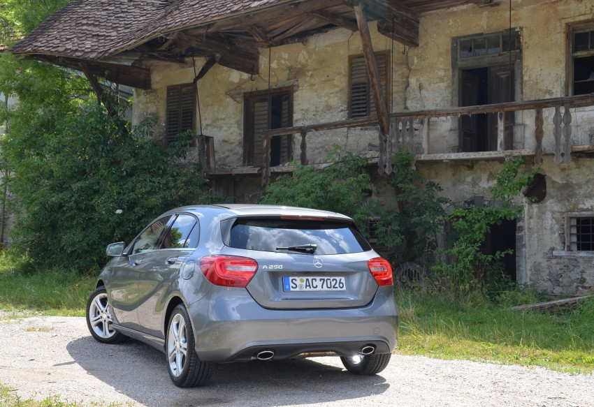 DRIVEN: W176 Mercedes-Benz A-Class – we sample the A200, A250 and A250 Sport in Slovenia Image #118511