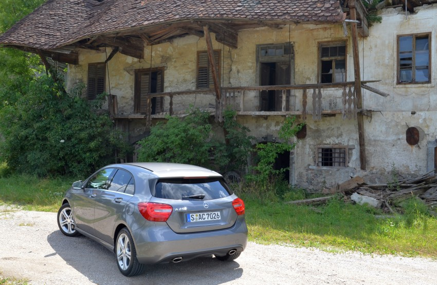 DRIVEN: W176 Mercedes-Benz A-Class – we sample the A200, A250 and A250 Sport in Slovenia Image #118512