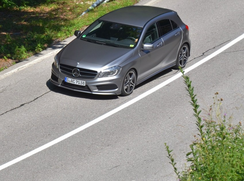 DRIVEN: W176 Mercedes-Benz A-Class – we sample the A200, A250 and A250 Sport in Slovenia Image #118516