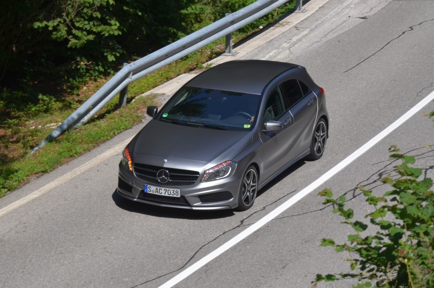 DRIVEN: W176 Mercedes-Benz A-Class – we sample the A200, A250 and A250 Sport in Slovenia Image #118517
