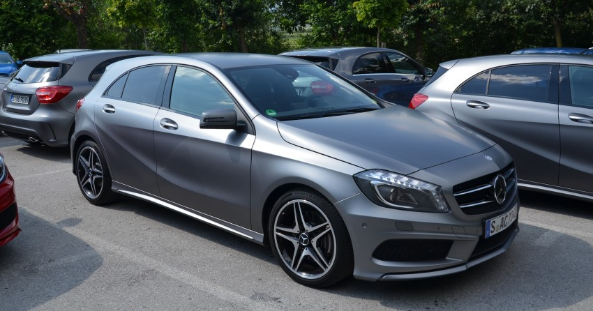DRIVEN: W176 Mercedes-Benz A-Class – we sample the A200, A250 and A250 Sport in Slovenia Image #118520