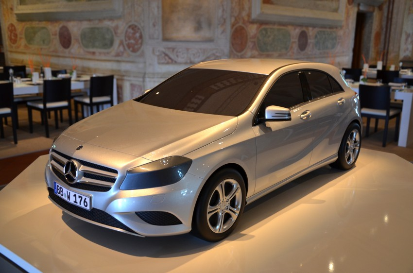 DRIVEN: W176 Mercedes-Benz A-Class – we sample the A200, A250 and A250 Sport in Slovenia Image #118525