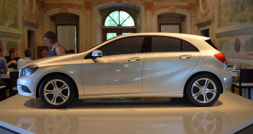 DRIVEN: W176 Mercedes-Benz A-Class – we sample the A200, A250 and A250 Sport in Slovenia Image #118526