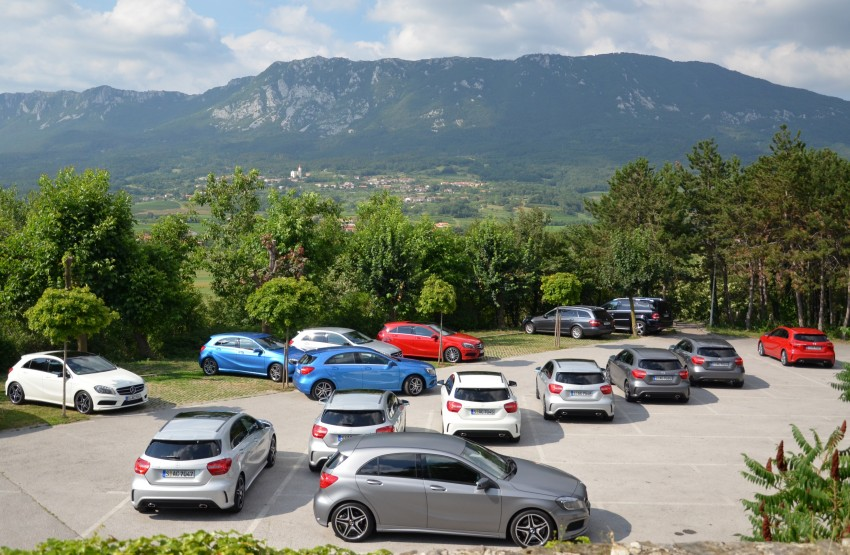 DRIVEN: W176 Mercedes-Benz A-Class – we sample the A200, A250 and A250 Sport in Slovenia Image #118532