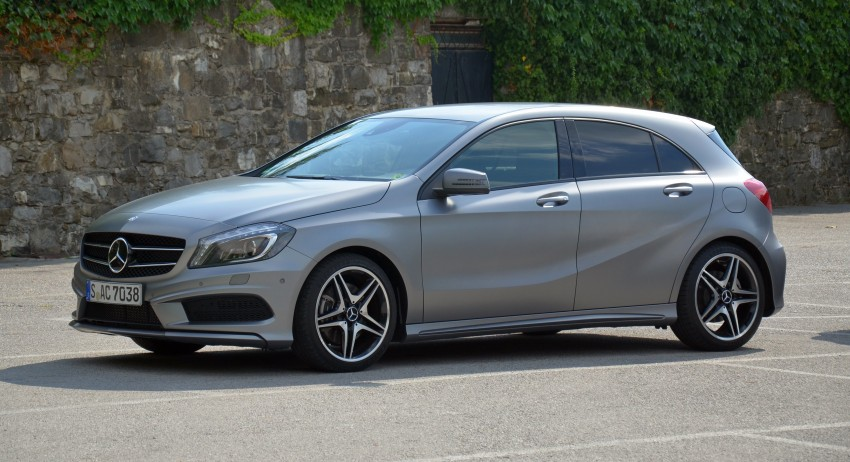 DRIVEN: W176 Mercedes-Benz A-Class – we sample the A200, A250 and A250 Sport in Slovenia Image #118534