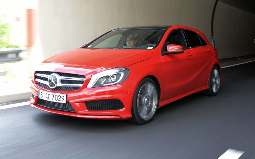 DRIVEN: W176 Mercedes-Benz A-Class – we sample the A200, A250 and A250 Sport in Slovenia Image #118539
