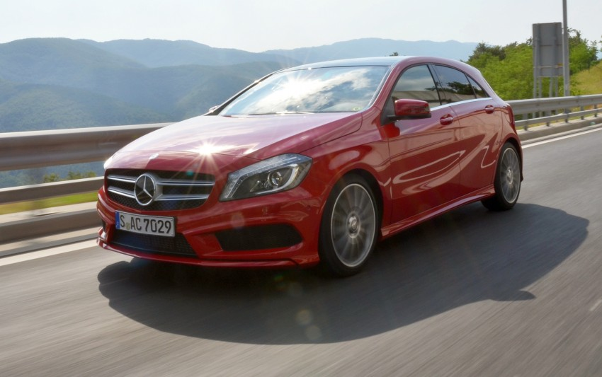 DRIVEN: W176 Mercedes-Benz A-Class – we sample the A200, A250 and A250 Sport in Slovenia Image #118540